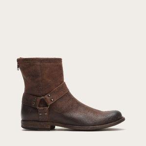 Frye Phillip harness boots size 7 BNWOB
